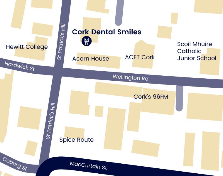 Cork Dental Smiles Map