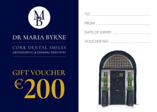 Cork Dental Smiles - Gift Voucher - €200